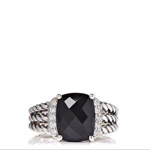 David Yurman ring Black Onyx Size 6.5!